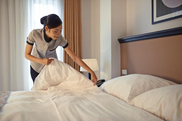 dịch vụ cho thuê đồ vải buồng phòng